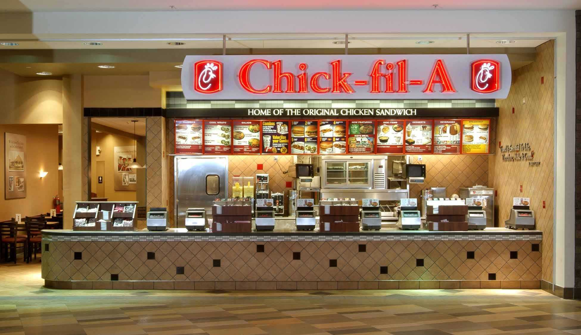 Chick Fil A Best Fast Food Restaurant