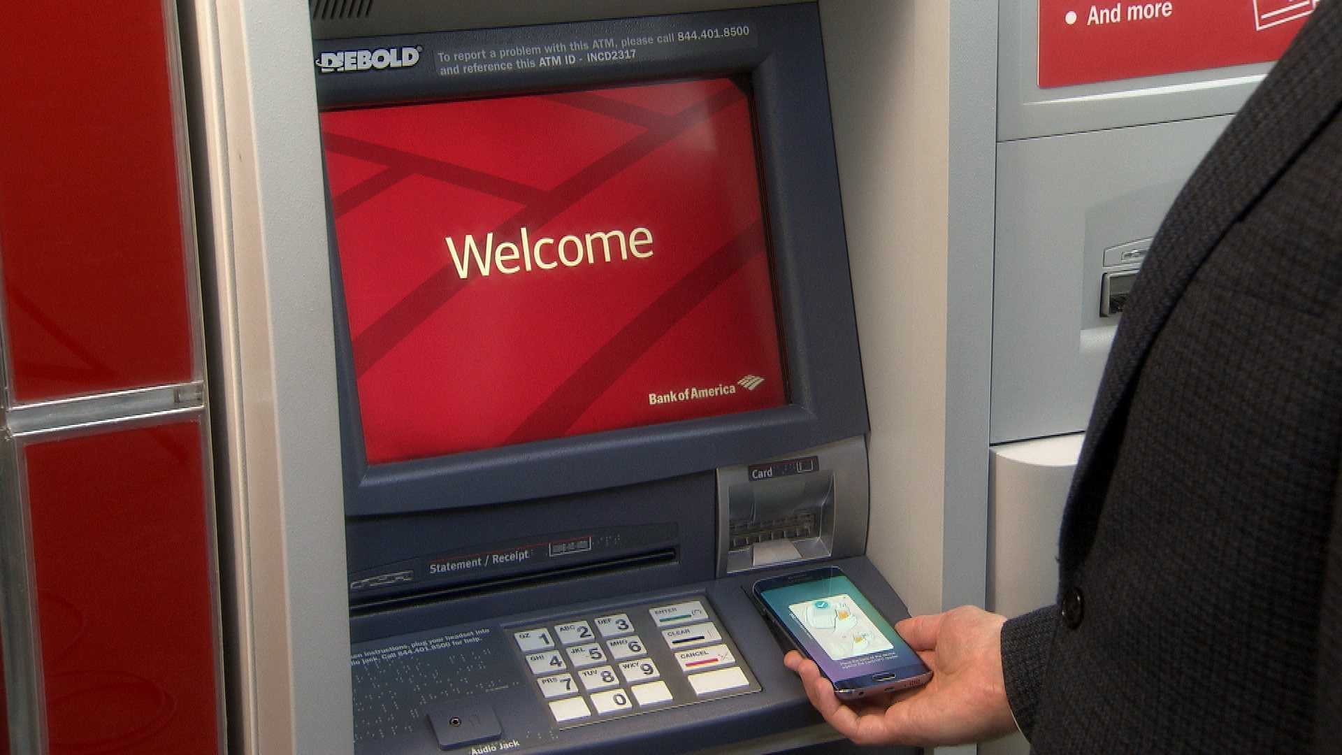 bank of america atm machine near me