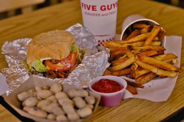 5 guys hours, five guys hours