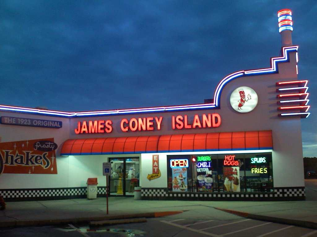 James coney island restaurant locations near me for American cuisine restaurants near me