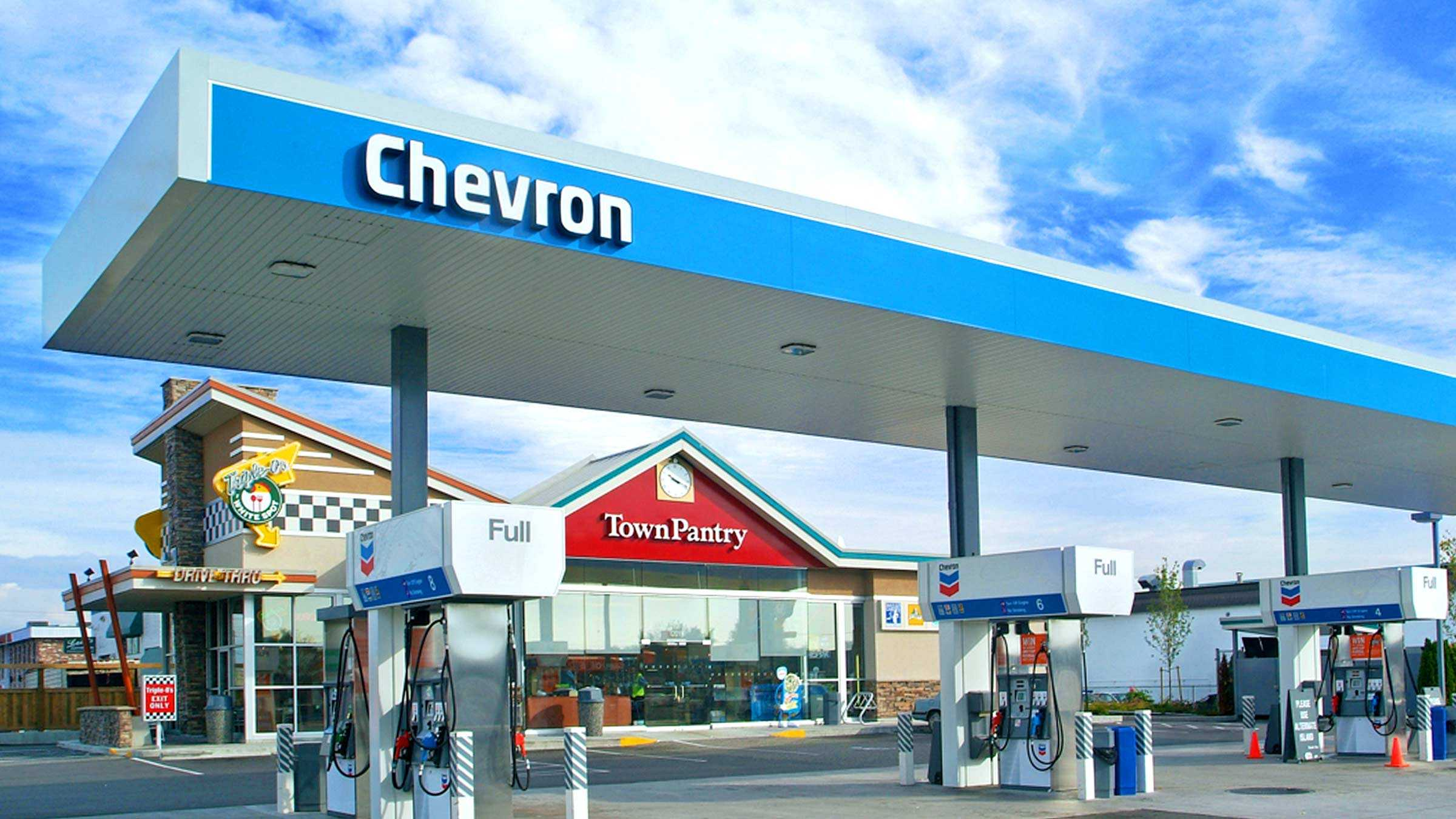 Chevron gas station locations near me united states maps