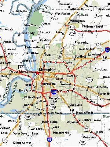 Map Of Tennessee State Map Of USA United States Maps - Map of tennessee with cities